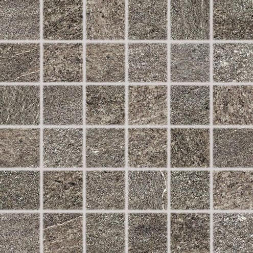 Rako Quarzit Brown Texture Mosaic 5x5