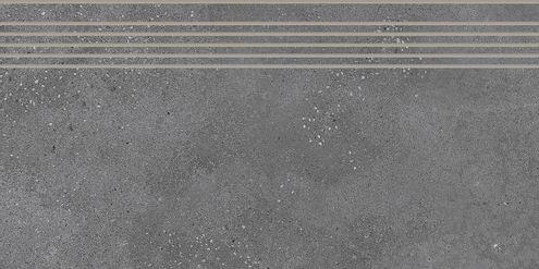 Dark Grey Step Tile 30 x 60