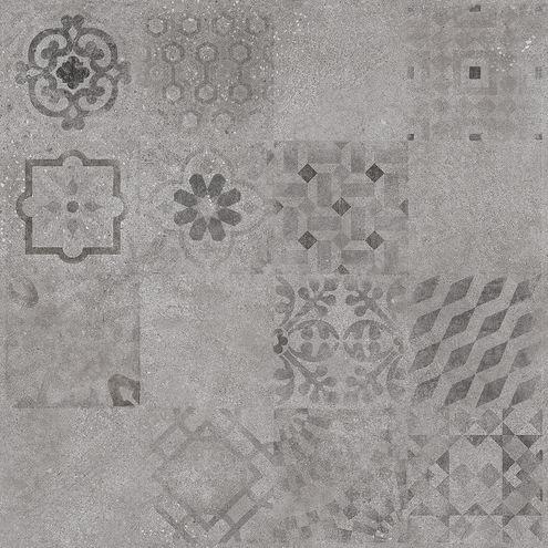 Grey Pattern 60 x 60
