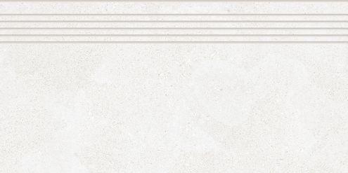 White Grey Step Tile 30 x 60